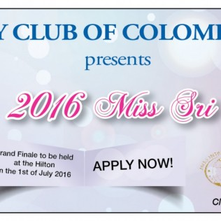 Apply now for Miss Intercontinental Sri Lanka