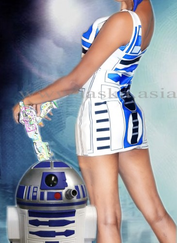 STARWARS-NILU BLUE HAIR