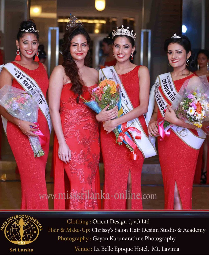 miss intercontinental sri lanka 2018 winners - sewwamdi-chetna-nishala-chalalni shehani