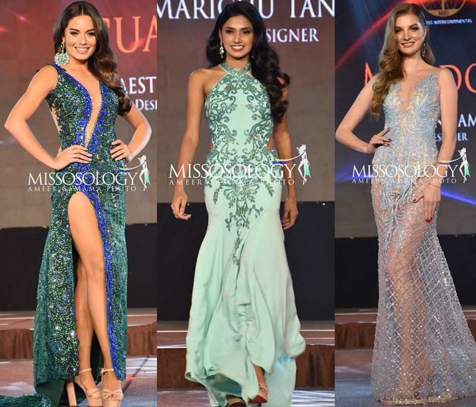 Miss Sri Lanka @ Miss Intercontinental Evening Gown Competition