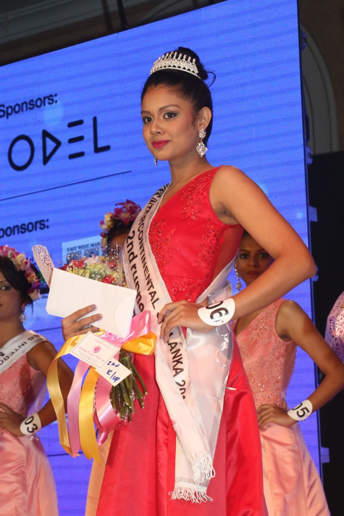 Oshani Minoli Dayaratne – 2nd Runner-up Miss Intercontinental Sri Lanka