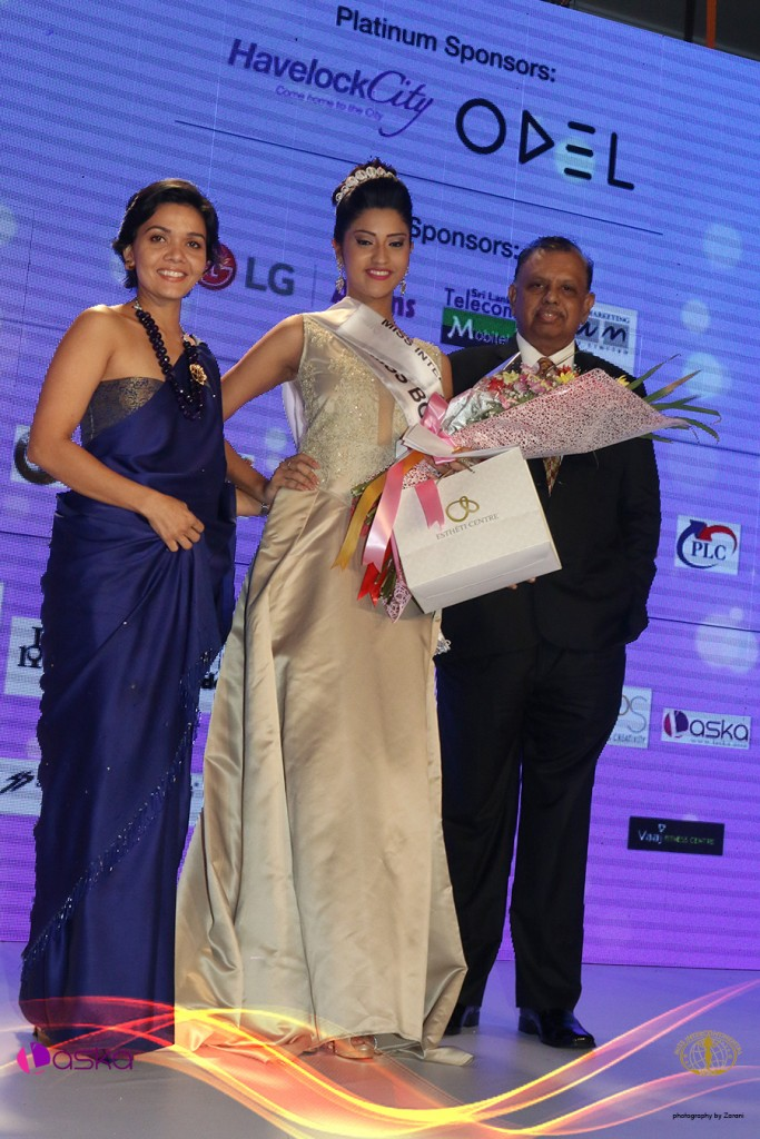 Andrea De Kauwe – 1st Runner-up Miss Intercontinental Sri Lanka