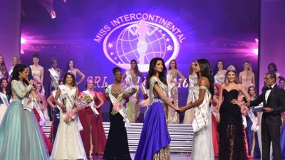 Tracy makes History..! in Miss Intercontinental Grand Finale…