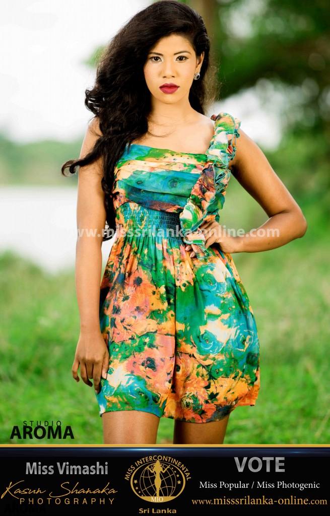 Vimashi-miss intercontinental-miss srilanka