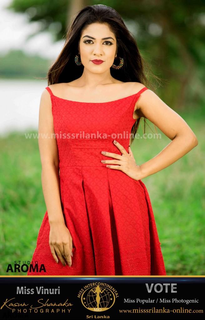 vinuri nisakya gonaduwage-miss intercontinental-miss srilanka