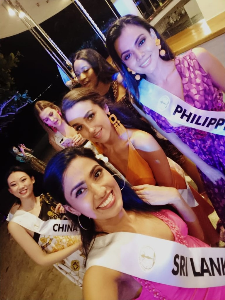 Miss Sri Lanka enjoying Filipino hospitality…. Videos & Pics