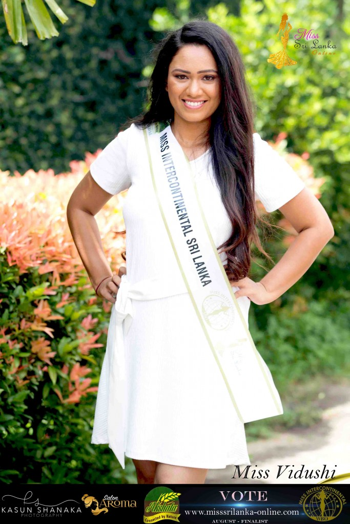 Vidushi – AKSHATA Miss Intercontinental Sri Lanka – August Finalist