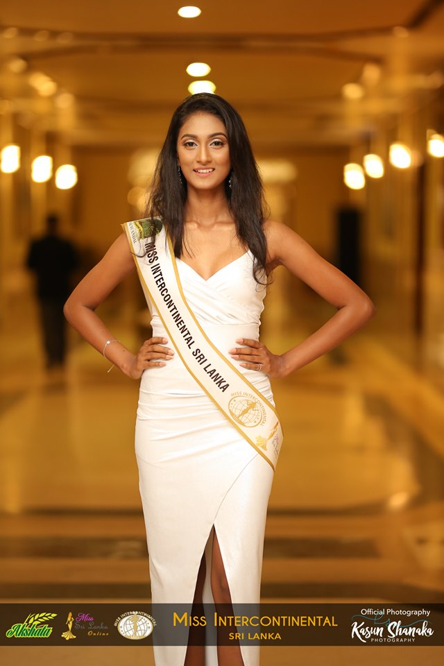Ayeshika – AKSHATA Suwandel Miss Intercontinental Sri Lanka –  Finalist