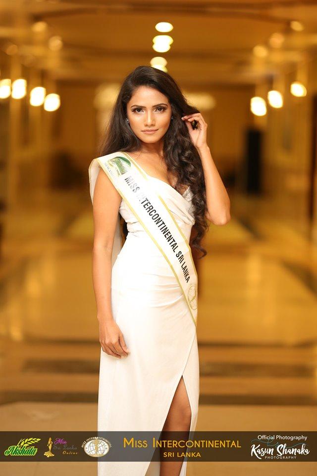 Dinithi -AKSHATA Suwandel Miss Intercontinental Sri Lanka –  Finalist