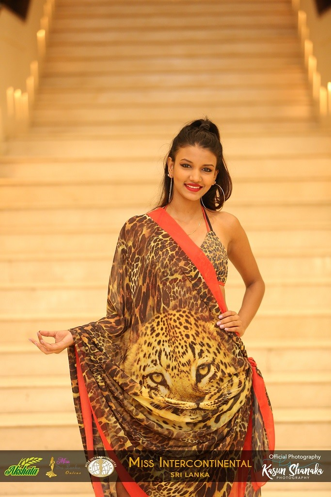 AKSHATA SUWANDEL MISS INTERCONTINENTAL SRI LANKA SWIM WEAR 1
