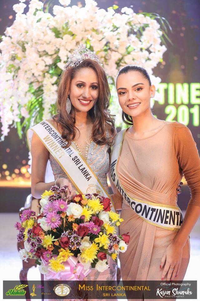 Twinkle Goonathileke –  AKSHATA Suwandel Miss Intercontinental Sri Lanka 2019