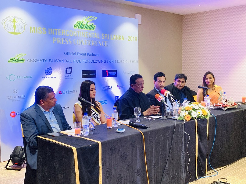 Press Conference – AKSHATA Suwandel Miss Intercontinental Sri Lanka 2019